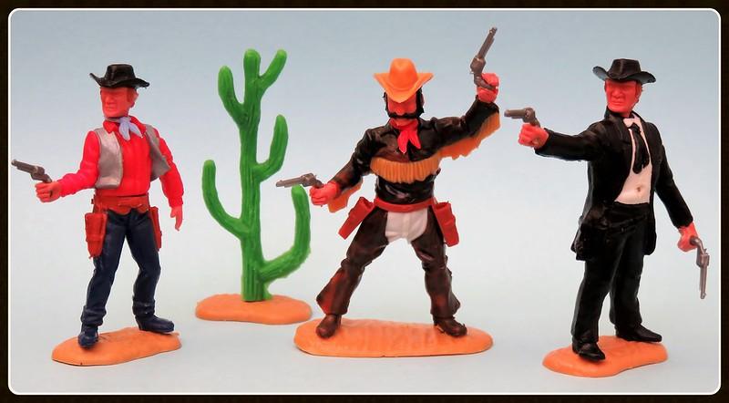 Toy soldiers, cowboys, indians, space men etc 31410407995_819bc58e8c_c