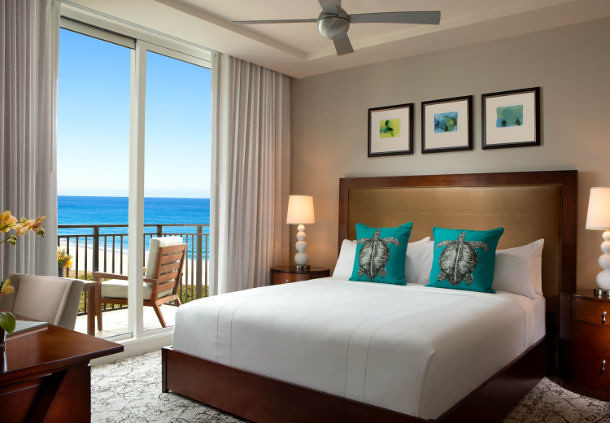 Guest Suite at the Palm Beach Marriott Singer Island Resort and Spa