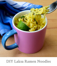 DIY Laksa Ramen Noodles