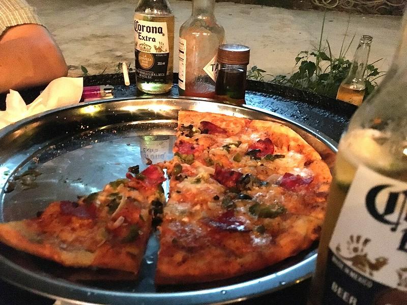 漂流者外澳披薩吧墨西哥披薩