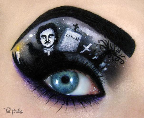 Необычный макияж на Хеллоуин - ПоЗиТиФфЧиК - сайт позитивного настроения!