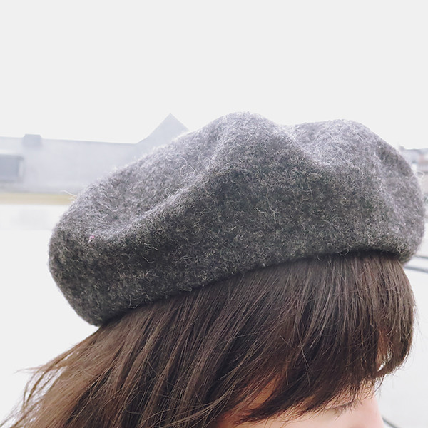 how to style beret