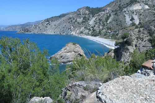 La playa desierta