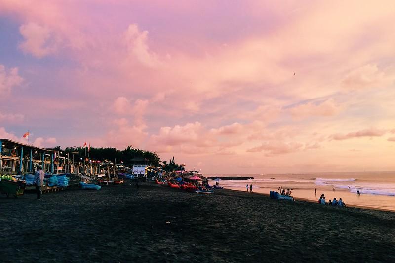Echo Beach Sunset Canggu Bali