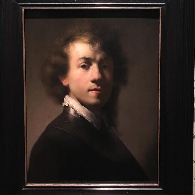 Rembrandt, self portrait, 1629.