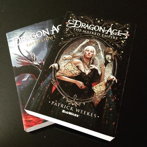 Collection complétée ❤️ #bookloot #dragonage #bookstagram