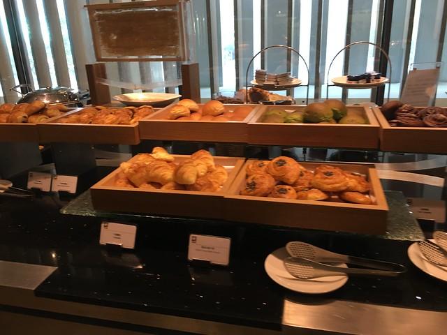 早餐:麵包區