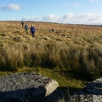 Approaching Little Whiten Tor