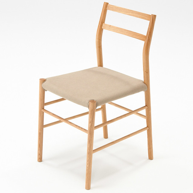 Lightweight Ash Wood Chair