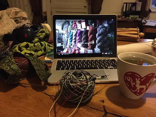 random knitter podcast Knit en Knot beurs Tilburg 2016