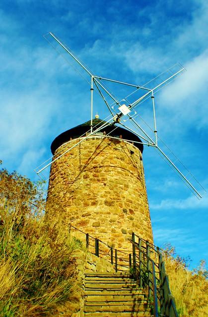 St Monans Windmill, Fife, Scotland.