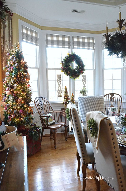 Christmas Dining Room-Sugared Fruit Tree-Christmas Tree-Housepitality Designs