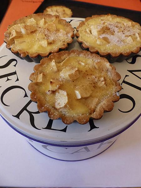 tartelettes aux pommes et aux épices