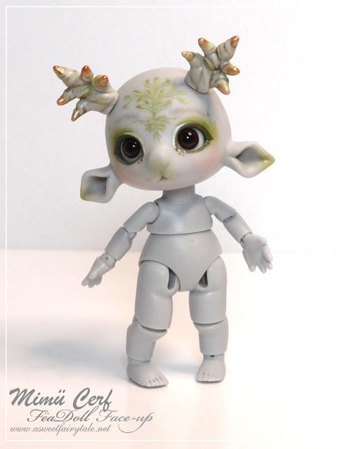 Mimu cerf grey skin avec face-up