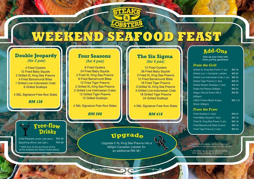 Steaks-&-Lobsters-Weekend-Seafood-Feast-Menu
