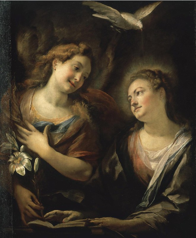 Giulio Cesare Procaccini - The Annunciation