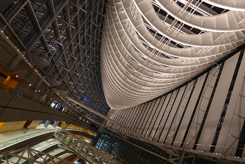 std. Tokyo International forum glass