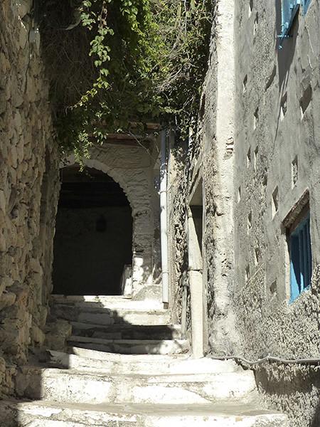 encore des escaliers dans le kastro