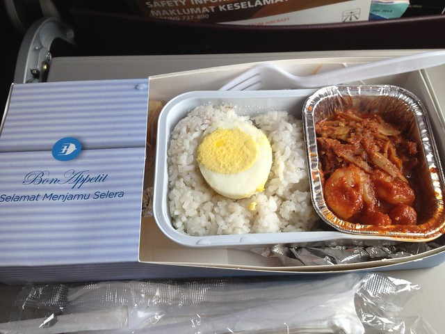 In flight food Malaysia Airline System