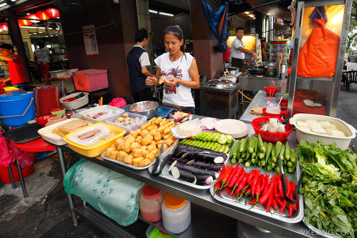 Sam's Yong Tau Fu Stall Kepong