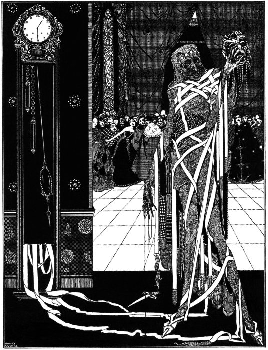 Harry Clarkes Illustrations For Poes Tales Of Mystery And