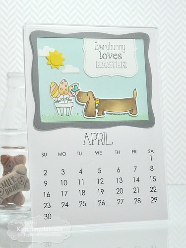 TE Calendar with Critters