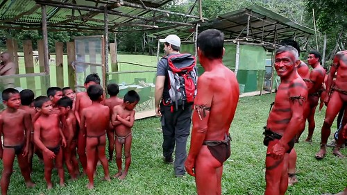 The Green Inferno - backstage 1