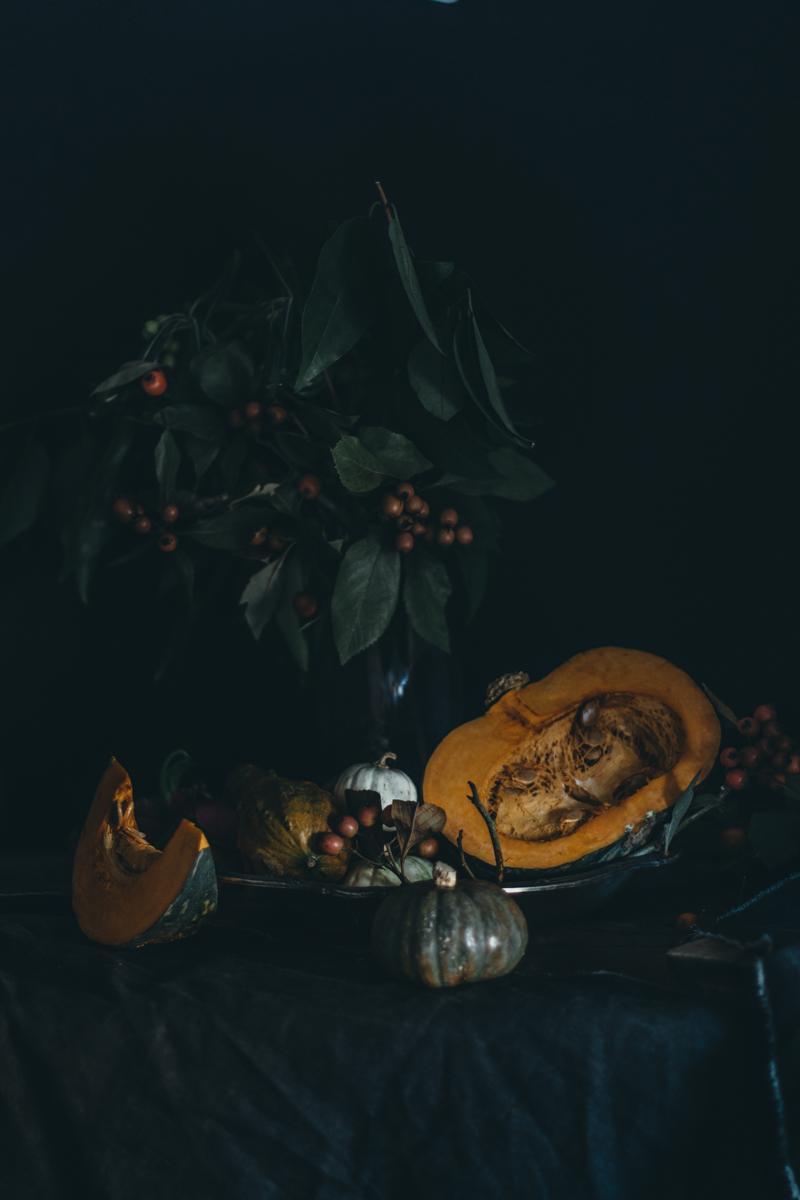 Saffron Pumpkin Pasta Bake for Virtual Pumpkin Party | Pasta al Forno con la Zucca | Lab Noon by Saghar Setareh-4