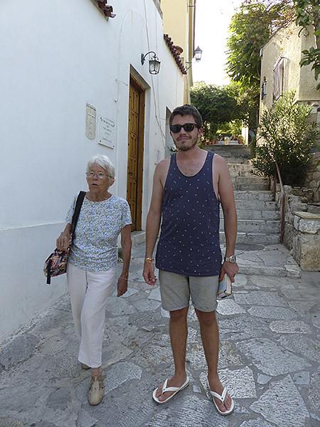 lala et clem à Athènes
