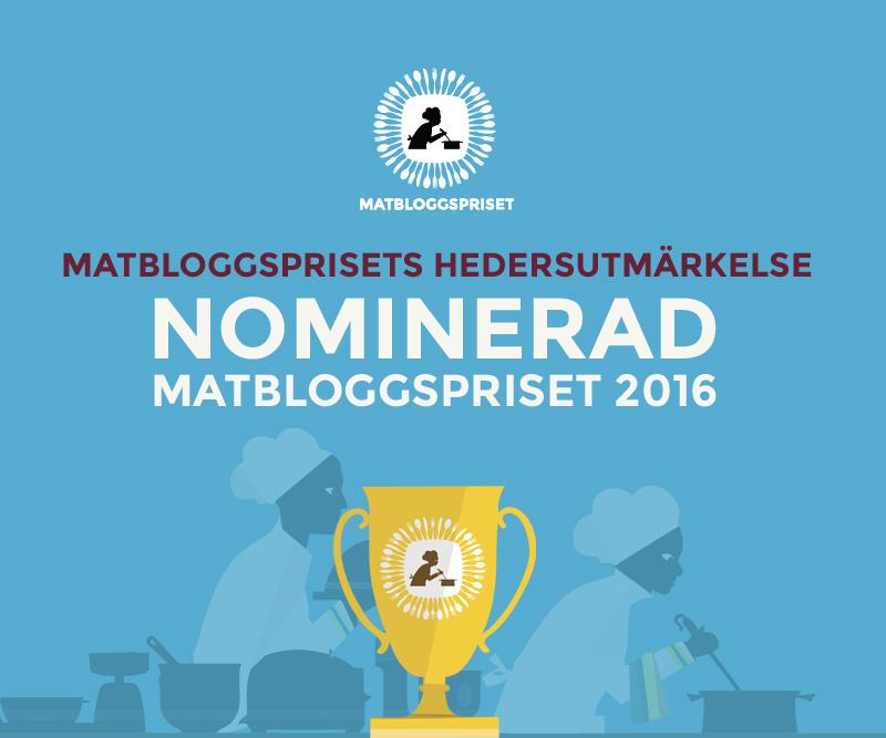 Matbloggsprisets hedersutmärkelse