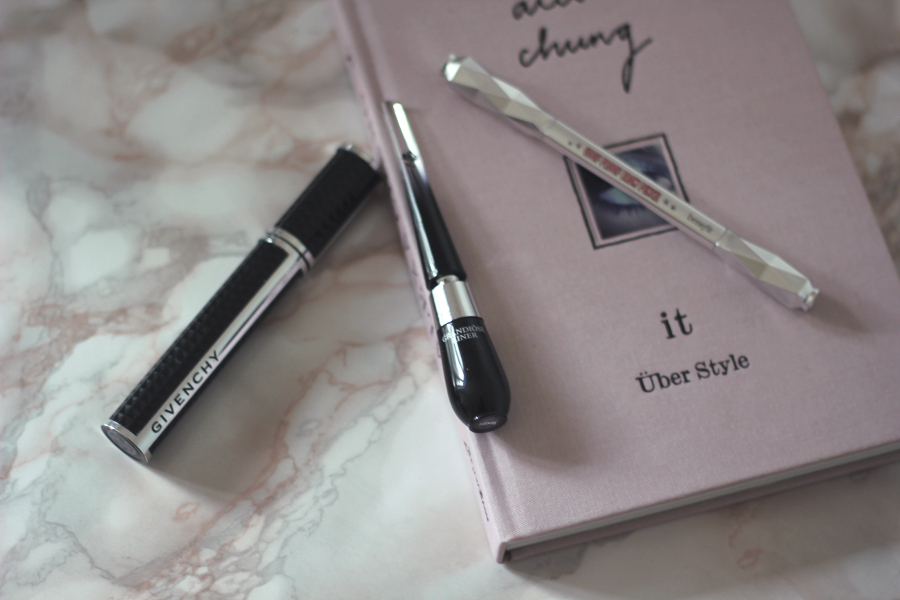 beauty givenchy mascara lancome eyliner benefit eyebrow pencil