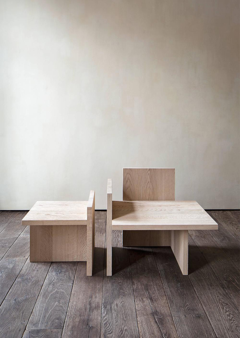AMM blog |  Michaël Verheyden's shelf armchair and table