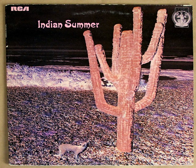"INDIAN SUMMER SELF-TITLED NEON NE 3 GATEFOLD 12"" LP VINYL"