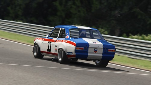 Ford Escort Mk1 - Chevron-Ford Racing Team - Yvette Fontaine - John Fitzpatrick - Spa 24h 1969 (3)