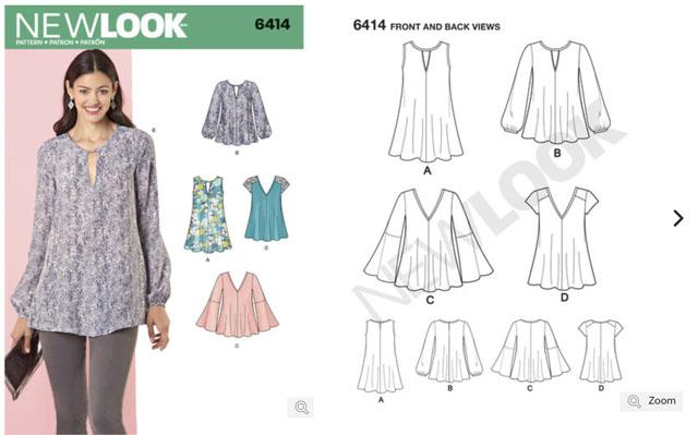 New Look 6414