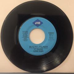 GLENN JONES:WE'VE ONLY JUST BEGUN(RECORD SIDE-A)