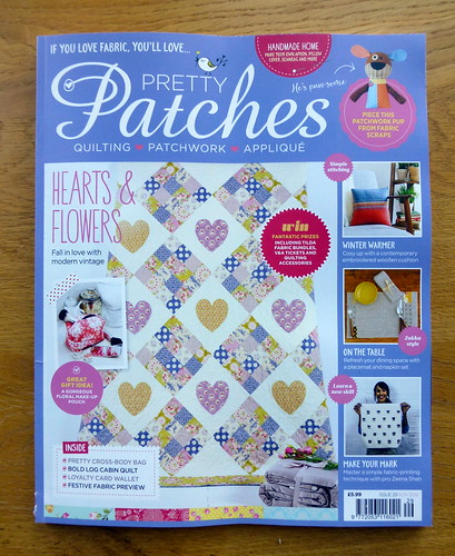 Hearts & Patches Tilda Quilt (Pretty Patches Nov16)