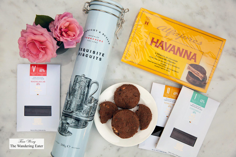 Cartwright & Butler biscuits, Havanna Alfajores, Chocoaltes