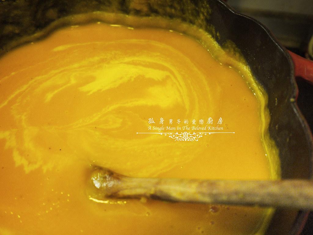 孤身廚房-香料南瓜湯33