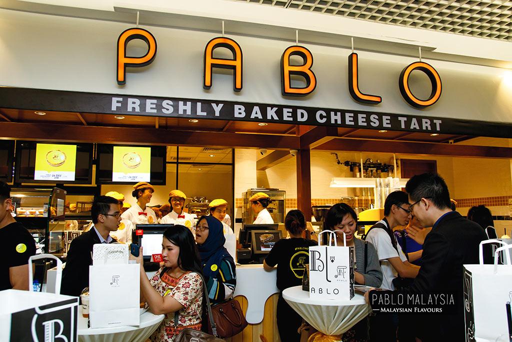 Pablo Cheesetart 1 Utama Malaysia