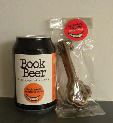 Key to Book Week Scotland beer