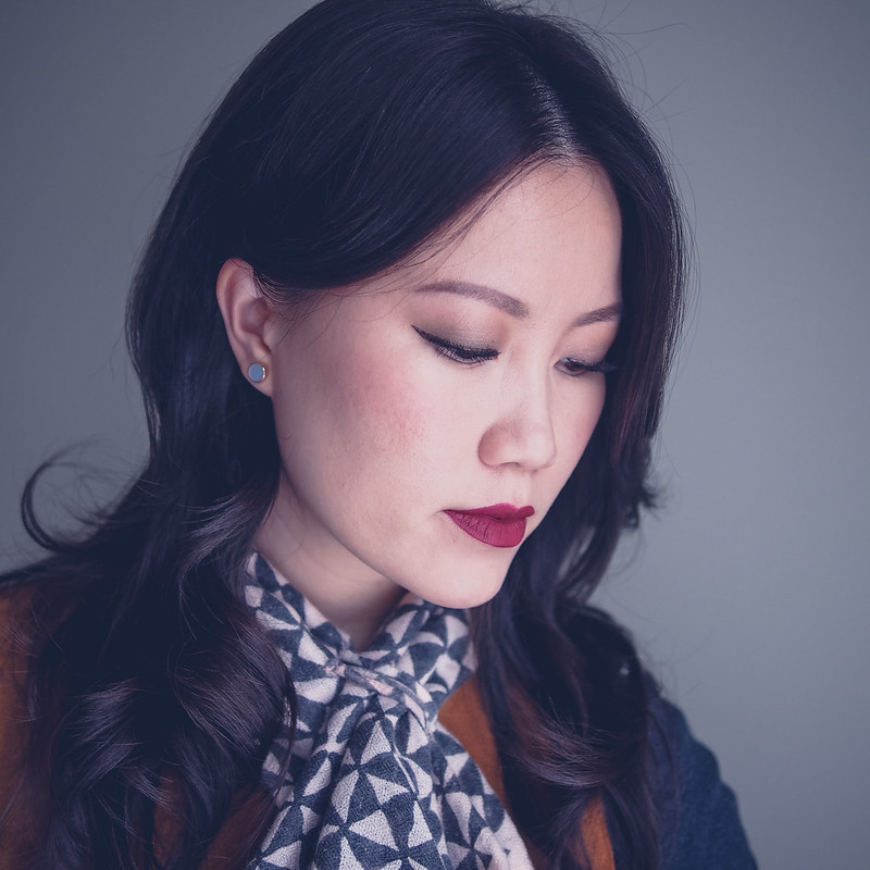 Vintage Inspired Fall Asian Makeup