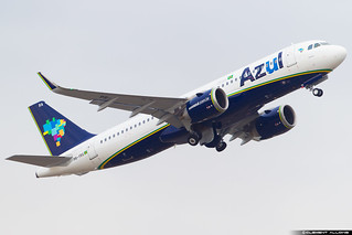 AZUL Linhas Aéreas Brasileiras Airbus A320-251n(WL) cn 7186 PR-YRA