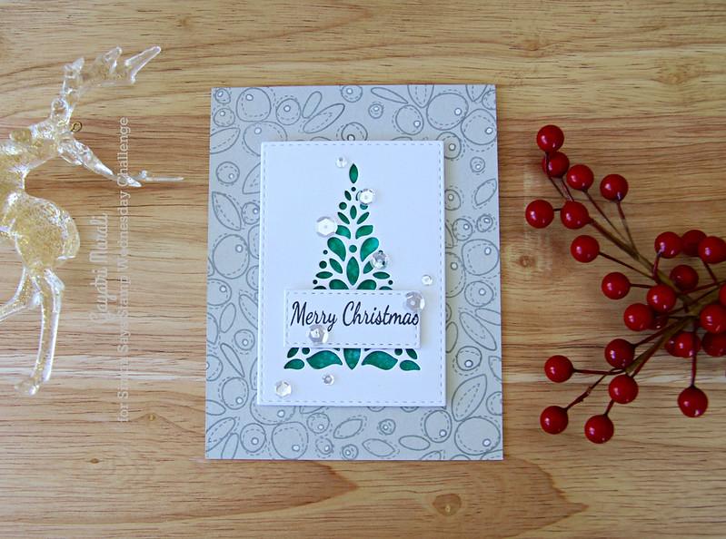 Merry Christmas corbel flat