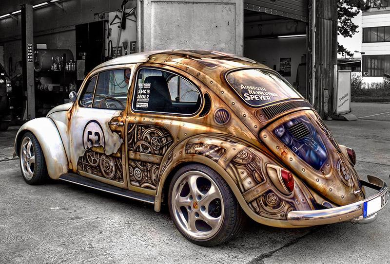 Volkswagen в стиле нео-ретро и стимпанк - ПоЗиТиФфЧиК - сайт позитивного настроения!