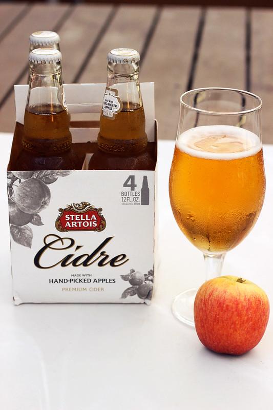 Stella Artois Cidre paired with Vegan Waldorf Salad {Gluten-free}