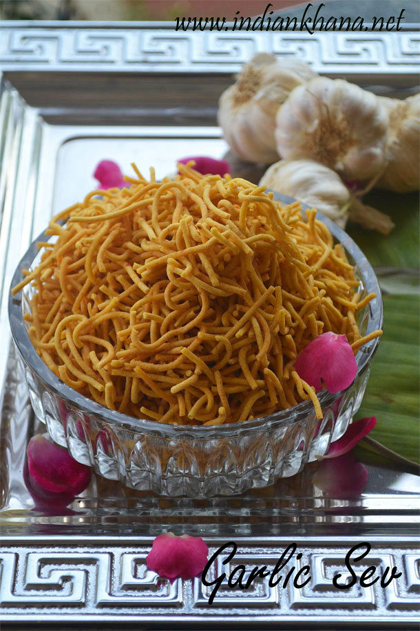 Garlic-Sev-Recipe