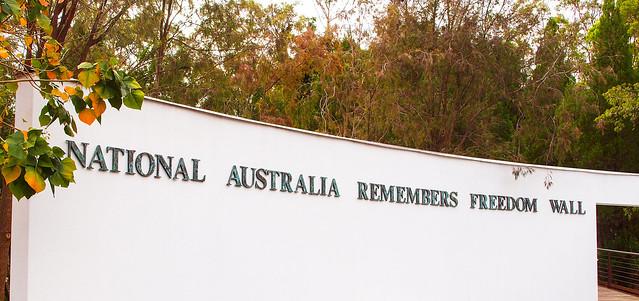 Freedom Wall - Brisbane Botanic Gardens Mt Coot-tha