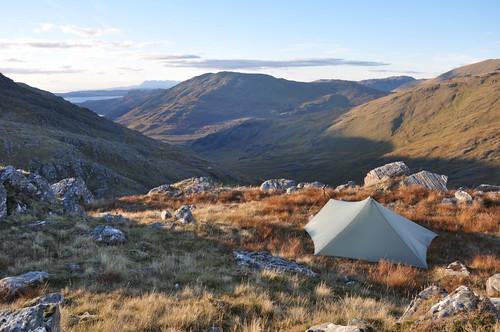Camp at Mam Uchd (Beinn Bhuidhe)