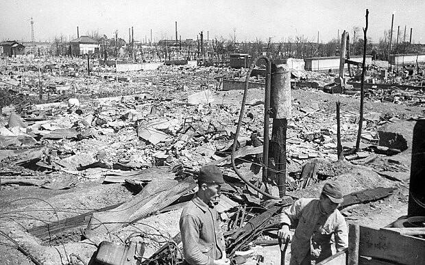 Japan WWII Firebombing